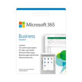 Microsoft 365 Bus Std Retail All Languages APAC EM SubPKL 1YR Onln DwnLd NR (KLQ-00209)